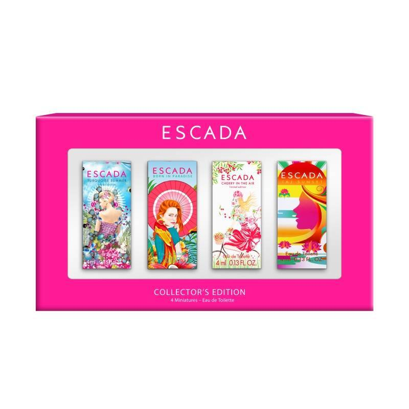 Escada Coffret 4 mini x 4ml - Escada - Parfum à Rabais